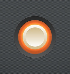 White button vector image vector image