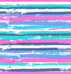 Seamless pattern with vibrant colors paint stripes vector