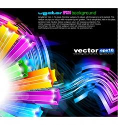 futuristic designs vector image