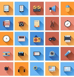 Device Icons 3 vector image