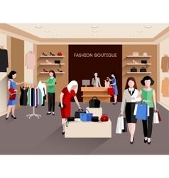 Fashion boutique vector