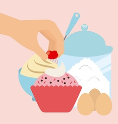homemade delights vector image