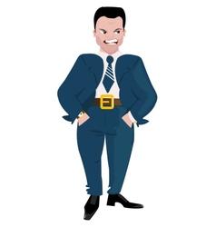 Evil Boss vector image