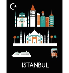 Istanbul city vector