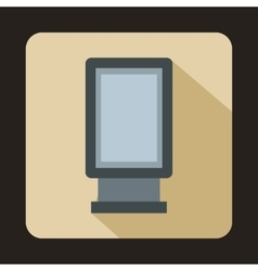 Advertising signs icon flat style vector