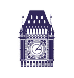 Big ben clock vector