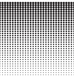 Hexagon halftone pattern vector