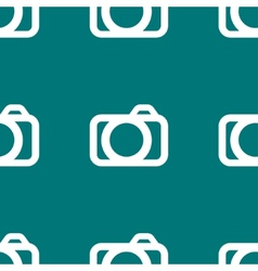 Camera web icon flat design seamless pattern vector
