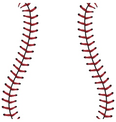 Baseball Lace Background4 vector image