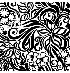 Excellent floral background vector image