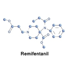 Remifentanil opioid analgesic drug vector