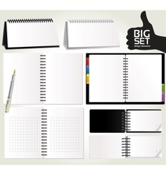 Big set design elements for your advertising vector image vector image