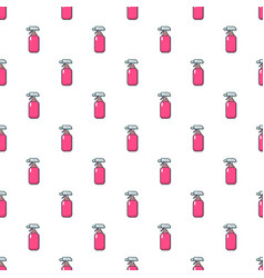Fire extinguisher pattern seamless vector