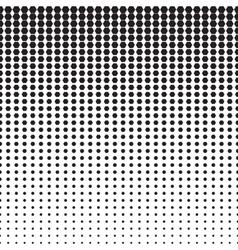 Hexagon halftone pattern vector