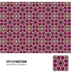 Pattern vinous vector image vector image