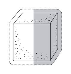 Isolated sugar square design vector