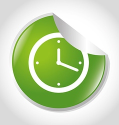Time and clock icon vector