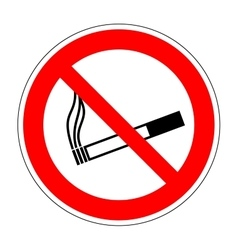 Sign no smoking 2405 vector