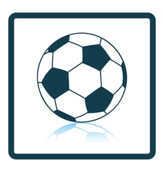 Icon of football ball vector