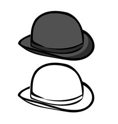 Bowler hat vector