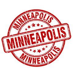Minneapolis stamp vector