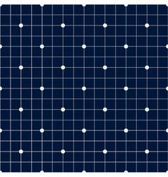 Navy blue dot seamless pattern ii vector