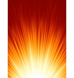 Luminous rays background vector