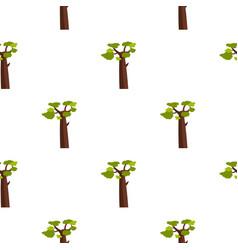Baobab pattern seamless vector