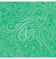Excellent floral background vector image