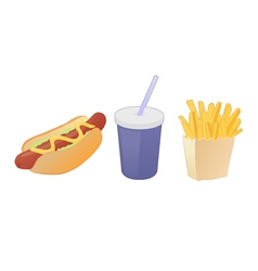 Fast Food vector image vector image