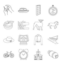 Medicine animal education and other web icon in vector