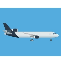 Airplane airport transport passenger business vector