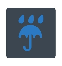 Rain protection icon vector