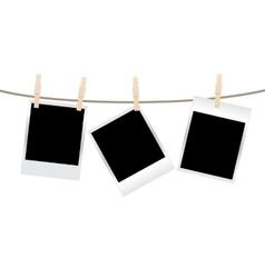 photos clothespin vector image
