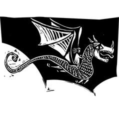 Dragon Rider vector image