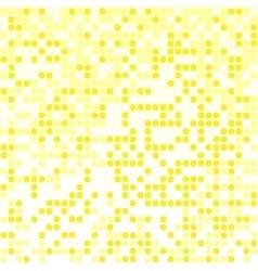 light yellow pixel background vector image vector image