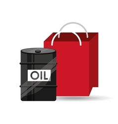 oil and petroleum industry shopping vector image vector image