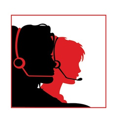 Receptionist vector