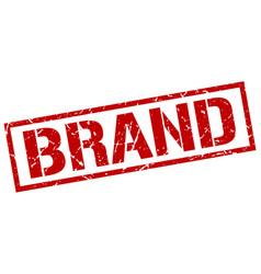 Brand stamp vector