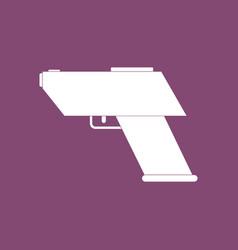 Icon electric gun vector
