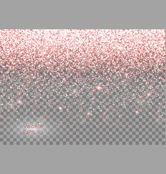 Romantic background with sparkles vector