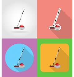 Sport flat icons 08 vector
