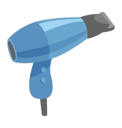 Fashion hairdryer tool vector