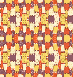 Abstract textile pattern vector