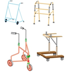 Walking frame vector