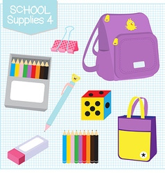 School supplies4 vector