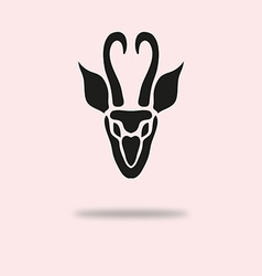 antelope symbol vector image vector image