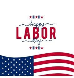 Happy Labor day USA vector image vector image