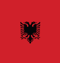 albania flag for independence day and infographic vector image