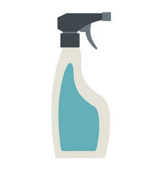 Blue sprayer bottle icon isolated vector